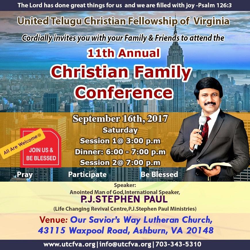 New Jersey Indian Christian Telugu Church -United